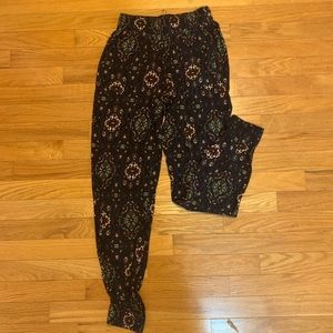 Abercrombie and Fitch boho jogger genie pants